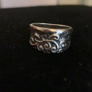 Silpada Poseidon ring size 7